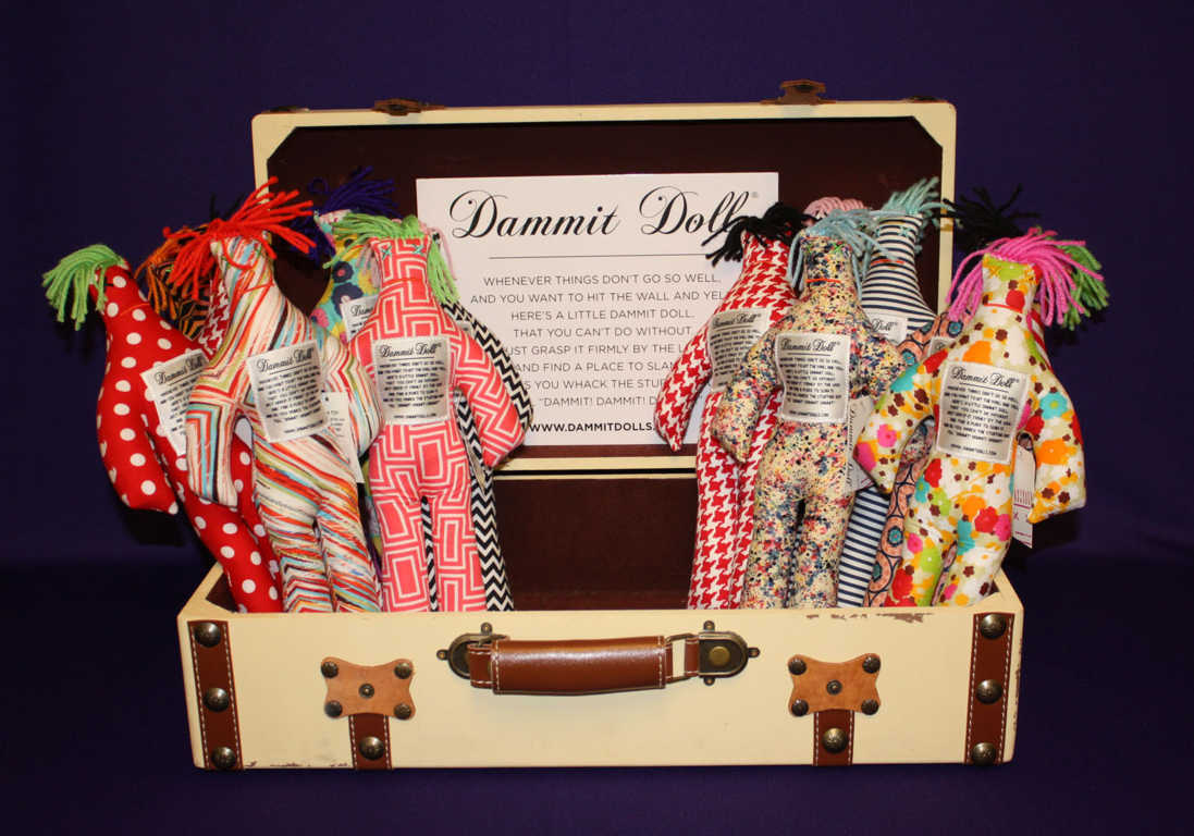 Dammit Dolls available at Mon General Hospital Home Accent Gift Shop