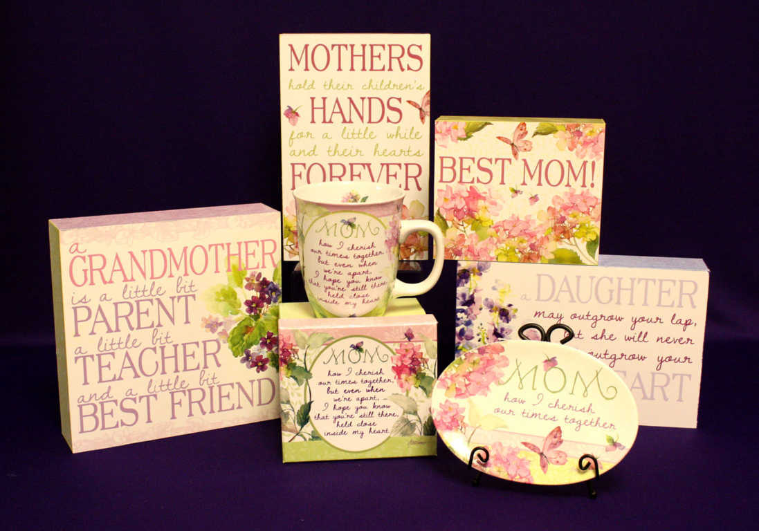Mother, Grandmother, and daughter home accent pictures and mug available at Mon General Hospital Gift Shop