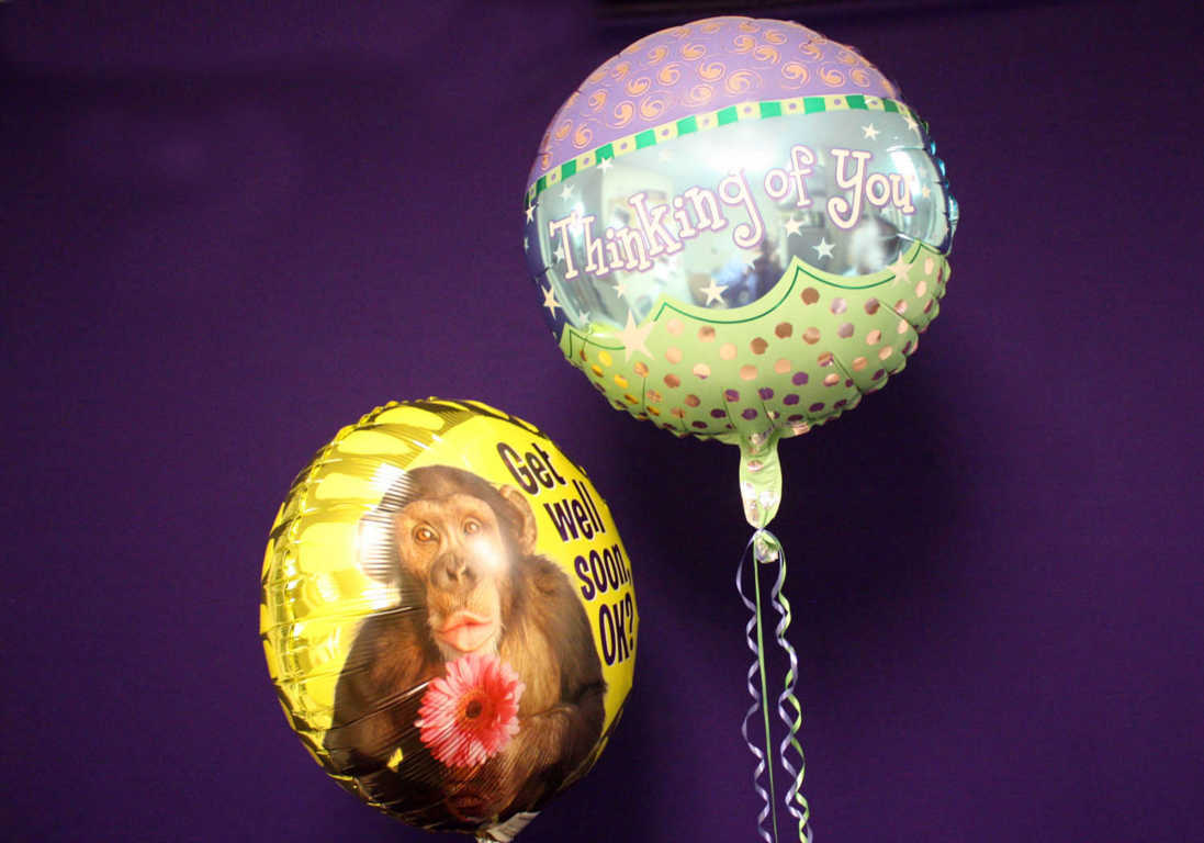 Get Well Soon and Thinking fo You Balloons from Mon General Gift Shop