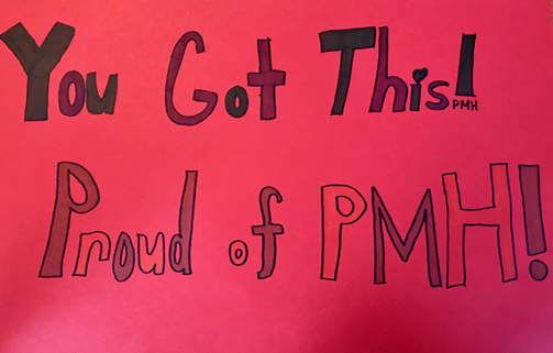 you got this proud of pmh