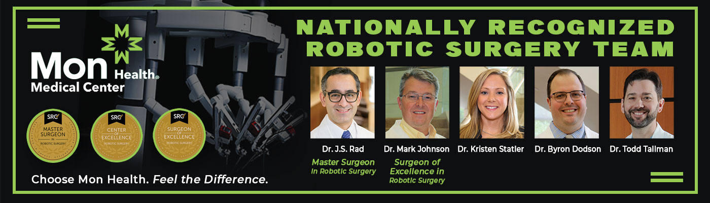 nationally recognized robotic surgery team